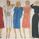 Vogue Sewing Pattern 2918 Misses Ladies Dress Tunic Skirt Belt Size 12 Uncut