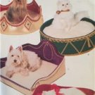 Butterick Sewing Pattern 6427 Dog Cat Pet Beds Cozy Critters Uncut 4 Different