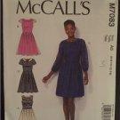 McCalls Sewing Pattern 7083 Ladies Misses Dresses Size 14-22 Uncut