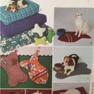 McCalls Sewing Pattern 3472 Pet Accessories Pillow Mat Sack Uncut Dog Cat