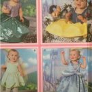 Simplicity Sewing Pattern 5402 Toddlers Disney Princess Costume Size 1/2-4 Uncut