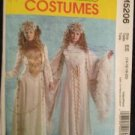 Sewing Pattern No 5206 McCalls Snow Queen Costume Size 6-12 New Uncut