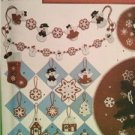 Simplicity Sewing Pattern 4385 Crafts Christmas Winter Home Decoration OS