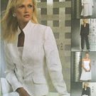 McCalls Sewing Pattern 5008 Ladies Misses Lined Jacket Top Skirt Size 6-12 Uncut
