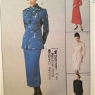 McCalls Sewing Pattern 9529 Ladies Misses Lined Dress Jacket Skirt Size 14-18 UC