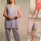 McCalls Sewing Pattern 8213 Ladies Misses Vest Pants Shorts Skirts Size 20-24 UC