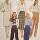 Sewing Pattern No 5097 McCalls Ladies Skirt Pants and Belt Size 12