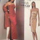 Vogue Designer Sewing Pattern 2481 Ladies Evening Dress & Stole Size 14-18