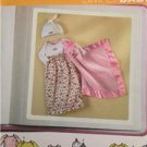 Simplicity Sewing Pattern 4153 Babies Layette with Blanket Size XXS-M Uncut