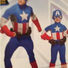 Simplicity Sewing Pattern 0225 1030 Mens Boys Avengers Captain America 3-8 S-XL