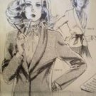 Sewing Pattern No 175A Knit N Stretch Ladies Misses Shawl Collar Jacket Sze 8-26