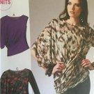 McCalls Sewing Pattern 6797 Ladies Misses Pullover Tops Size L-XXL Uncut