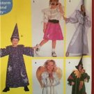 Simplicity Sewing Pattern 9910 Childs Angel Scarecrow Wizard Costume Size 3-8 UC