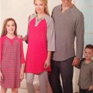 Simplicity Sewing Pattern 0473 1285 Child Teen Adult Top Pants Size XS-L/XS-XL