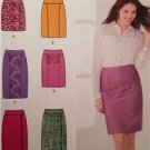 Simplicity Sewing Pattern 1760 Ladies Misses Skirts in Two Lengths Size 6-14 UC