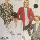 McCalls Sewing Pattern 6283 Misses Ladies Unlined & Lined Jacket Size 14-18 UC
