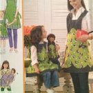 Simplicity Sewing Pattern 3746 Childs Misses And Dolls Aprons All Sizes