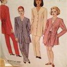McCalls Sewing Pattern 7823 Ladies Misses Jacket Top Pants Size 10-14 Uncut