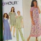Simplicity Sewing Pattern 8589 Maternity Dress Pants Jumper 12-16 Water Damaged