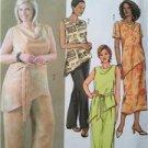Butterick Sewing Pattern 4202 Misses Ladies Top Belt Skirt Pants Size 22W-26W
