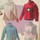 Butterick Sewing Pattern 4346 Ladies Misses Top Scarf Size L-XL  16-22 Uncut