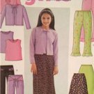 Butterick Sewing Pattern 3903 Girls Cardigan Pants Skirt Top Size 12-16 Uncut