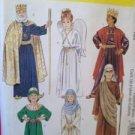 McCalls Sewing Pattern 2340 Child Navitiy Scene Angel Shephard Size 8-10 Uncut