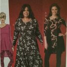 McCalls Sewing Pattern 7028 Ladies Misses Dress Tunic Leggings Size 8-16 UC