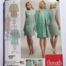 Simplicity Sewing Pattern 0825 1168 Misses Ladies Miss Petite Dress Size 6-14 UC