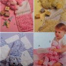 "McCalls Sewing Pattern 5642 Baby Infants Gifts Blanket Toy Size 41x41"" Uncut"