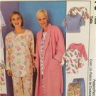 McCalls Sewing Pattern 3370 Ladies Misses Robe Tunic Top Pants Size L-XL Uncut