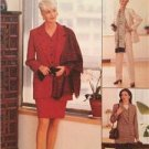 McCalls Sewing Pattern 8400 Ladies Misses Jacket Vest Skirt Pants Size 12-16 UC
