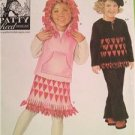 Simplicity Sewing Pattern 4340 Child Girls Top Vest Skirt Pants Hat Size 3-8