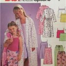 McCalls Sewing Pattern 3906 Girls Childs Robe Top Gown Shorts Size XS-SM Uncut