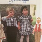 Simplicity Sewing Pattern 9846 Toddlers Dress Vest Pants Bow Tie Size 1/2-2 UC