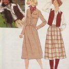 Sewing Pattern No 8201 Simplicity Ladies Skirt Unlined Jacket or Vest Size 10