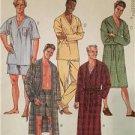 McCalls Sewing Pattern 8524 Mens Sleepwear Robe Pants Shorts Size S-L Uncut