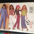 Butterick Sewing Pattern 3054 Girls Jacket Top Skirt Pants Size 7-14 Uncut