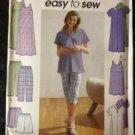Sewing Pattern No 9188 Simplicity Maternity Tunic Dress Pants Shorts Size 16-22