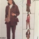 McCalls Sewing Pattern 8905 Ladies Misses Jacket Vest Pants Skirt Size 16-20 UC