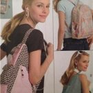 Butterick Sewing Pattern 5054 Young Adult Junior Backpack MP3 Player Covers UC
