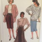 Simplicity Sewing Pattern 7706 Ladies Misses Lined Unlined Knit Skirts Size 6-10