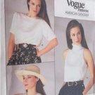 Vogue Ralph Lauren Sewing Pattern 1724 Misses Top Size 12 Uncut