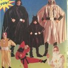 McCalls Sewing Pattern 8334 Mens Superhero Costumes Size 34-36 Small Uncut