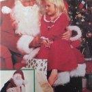 McCalls Sewing Pattern 8992 Santa Claus Costume Bag Doll Size 46-48 Uncut