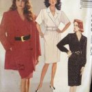 Sewing Pattern No 5053 McCalls Ladies Jacket, Dress and Belt Size 10-12 Uncut