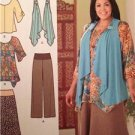 Simplicity Sewing Pattern 2195 Ladies Misses Skirt Tunic Pants Size 10-18 UC