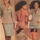 McCalls Sewing Pattern 5335 Ladies Misses Lined Jacket Skirt Pants Size 8-14 UC