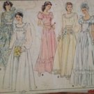 Sewing Pattern No 3290 Style Ladies Wedding and Bridesmaid Dress Size 10