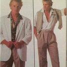 Simplicity Sewing Pattern 8468 Mens Teen-Boys Shirt Pants Shorts Jacket Size MD